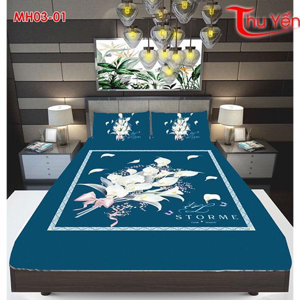 Vải thun Ý 5D thun Thái MH03