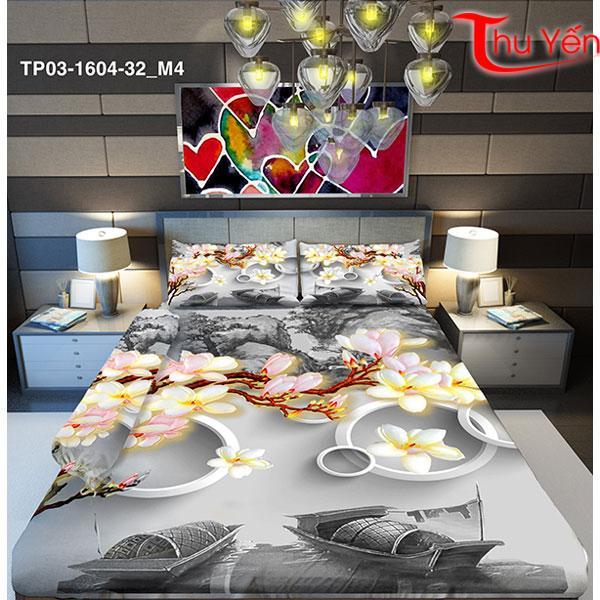 Vải thun Ý 5D thun Thái TP03-1604-32